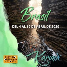 Brasil – Del 4 al 19 de abril de 2020 – Cancelado