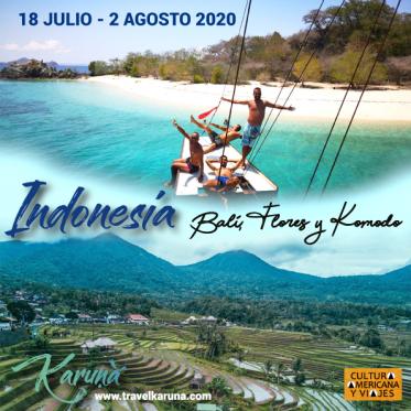 Indonesia: Bali, Flores y Komodo – 18 JULIO – 2 AGOSTO