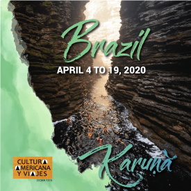 Brazil: April 4 to 19, 2020 – Cancelled