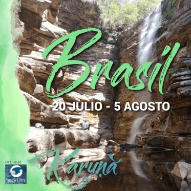 BRASIL – 20 de julio al 5 de agosto de 2019