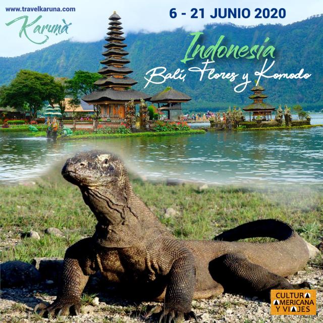 Indonesia: Bali, Flores y Komodo – 6-21 JUNIO – Cancelado